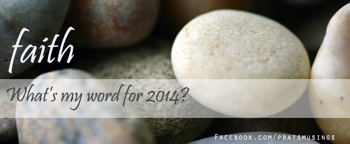 My word of the year