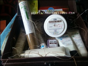 The Nature's Co October Beauty Wish Box