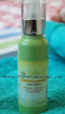 Omved Cuddles and Comfort Lotion