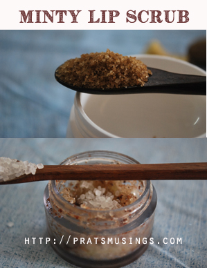 home made lip scrubs