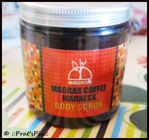 Madras Coffee Madness Body Scrub by Nourish