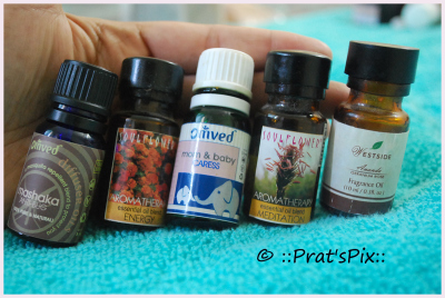 essential oils for babies