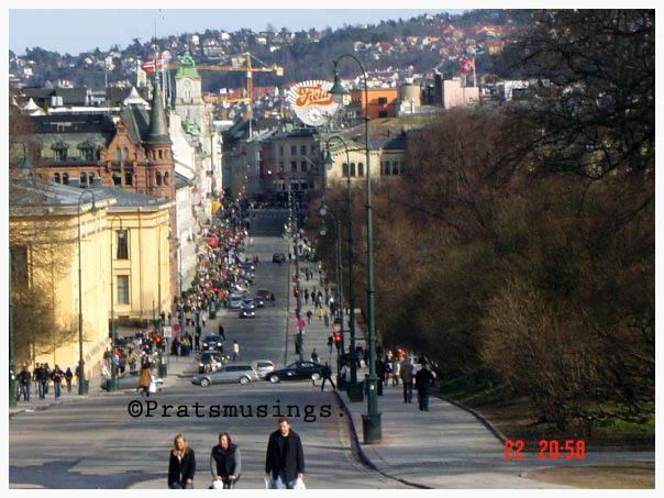 Karl Johan Street - Oslo, Norway