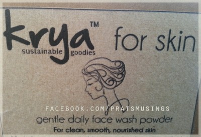 Krya Gentle Daily Face Wash Powder