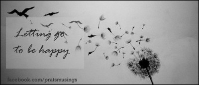 Letting go to be happy {Life Mantras}