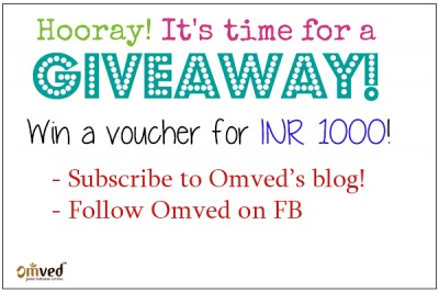 Omved - Diwali Giveaway