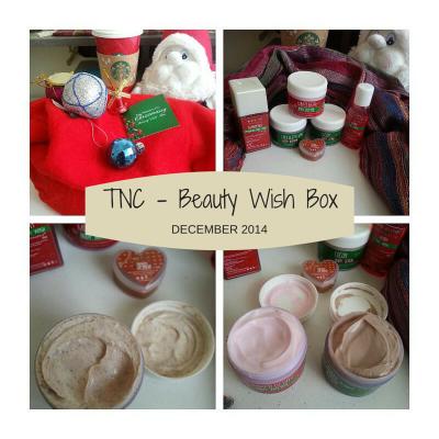 Beauty Wish Box December 2014 by TNC