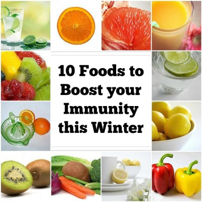 10 Foods to Boost your Immunity this Winter