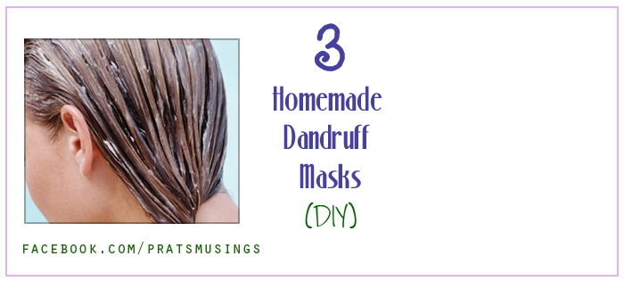 Homemade dandruff masks
