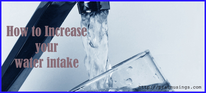 ways to increase water intake