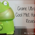 Crane Ultrasonic Cool Mist Humidifier Review