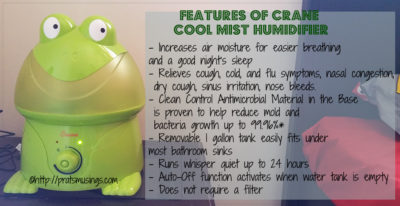 Crane Cool Mist Humidifier