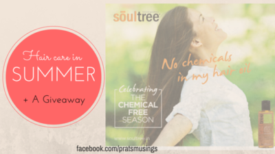 Hair care in summer + a giveaway