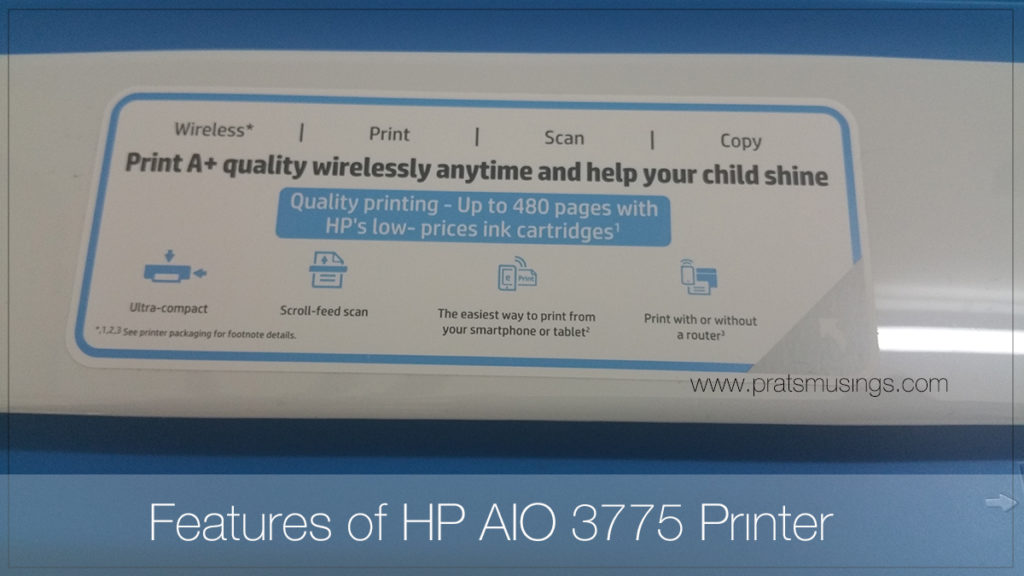 HP Deskjet Ink Advantage 3775 Review