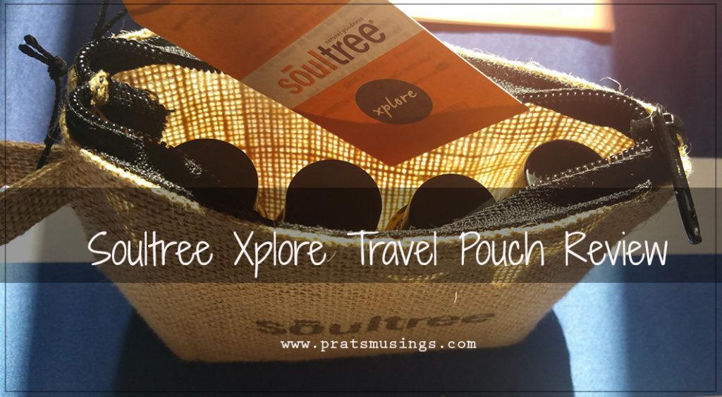 Soultree Xplore Travel Pouch