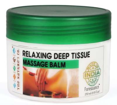 Relaxing Deep Tissue Massage Balm by The Natures Co