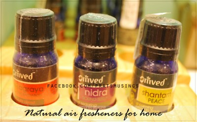 natural air fresheners for home