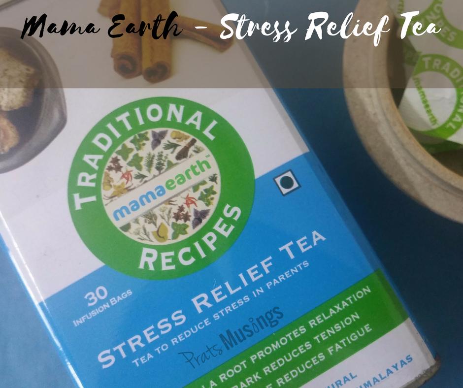 Mama Earth Stress Relief Tea