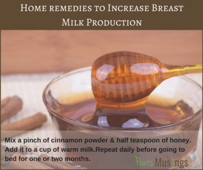 Increase Breast Milk Production