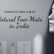 9 best natural face mists in India