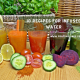 10 recipes for infused water